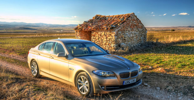 BMW car in Spain