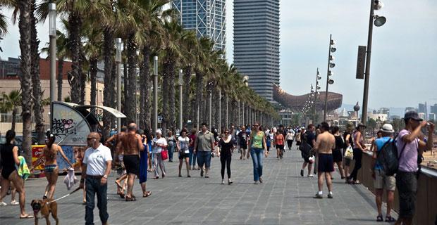 Bikinis in Barcelona