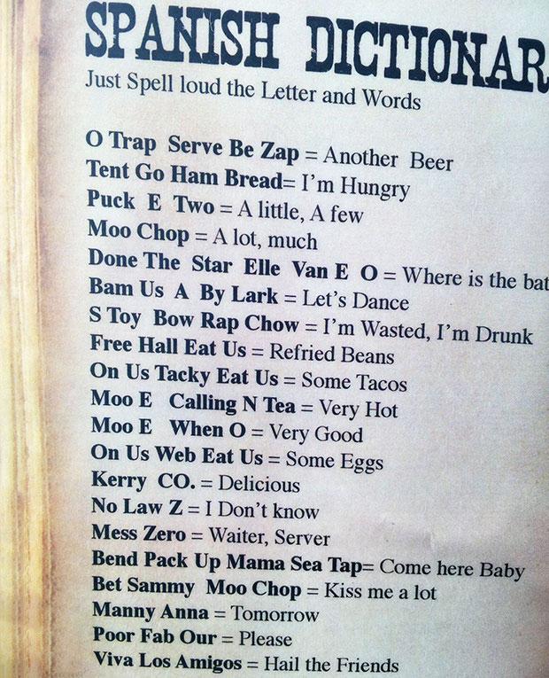 Funny Spanish Dictionary (Full)