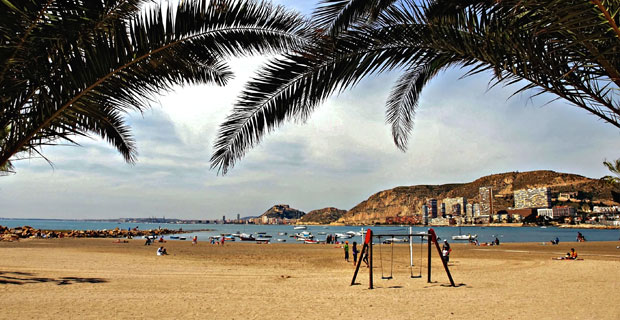Albufereta beach, Alicante