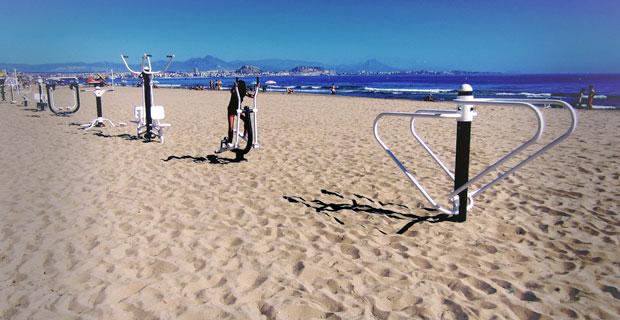 Saladar beach Urbanova, Alicante