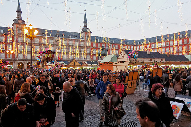 Madrid Christmas market